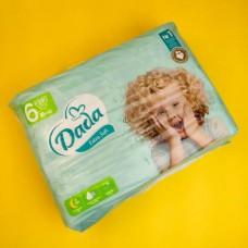 """Подгузники  """"Dada"""" Sof Extra 6 (15+ кг), 38 шт"""