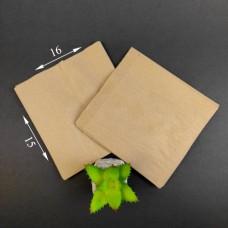 Пакет бумажный САШЕ бурый 160*150*50 мм