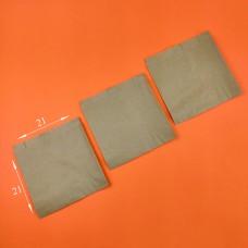 Пакет бумажный САШЕ бурый 210*210*60 мм