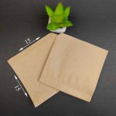 Уголок бумажный бурый САШЕ 150*150 мм (1000 шт)