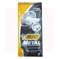 Одноразовые станки для бритья BIC Metal  (5 шт.)