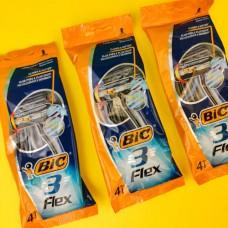 Станок BIC 3 Flex (4 шт.)