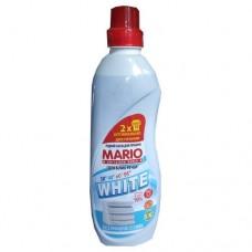 """Жидкое средство для стирки 1 л. """"Mario"""" ДЛЯ БЕЛОГО"""