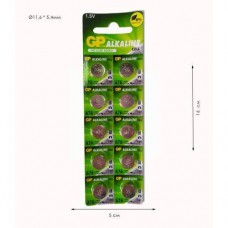 "Батарейки LR 44 ""GP Alkaline"" G13"