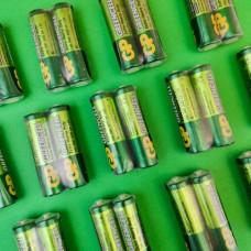 """Батарейки АА """"GP"""" Greencell солевые 1.5V R6"""