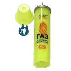Баллончик газовый для зажигалок 90 мл ЖЕЛТЫЙ