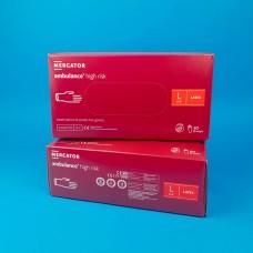 Перчатки латексные (L) Ambulancе (25 пар)