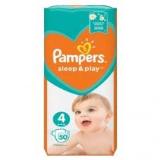 Подгузники Pampers Sleep&Play 4 (9-14 кг) 50 шт.