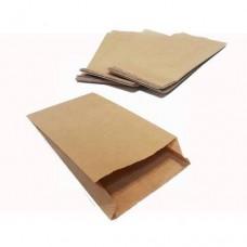 Пакет бумажный САШЕ бурый 160*150*50 мм (573 гр, 200 шт ± 5 шт)
