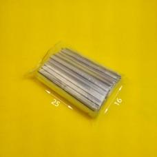 Пакет струна с замком zip lock 16*25  (100 шт) зип. пакет