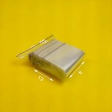 Пакет струна с замком zip lock 8*12 (100 шт) зип. пакет