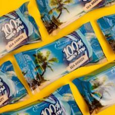 Салфетки влажные (15 шт.) 100% чистоты МОРЕ