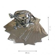 Пакеты фольгированные для гриля 280*370 мм (100 шт)