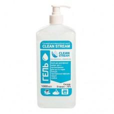 """Дезинфицирующее антисептическое  средство """"Clean Stream"""" гелевая форма 1 л."""