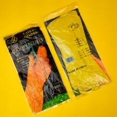 Перчатки резиновые (L)