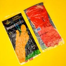 Перчатки резиновые (M)