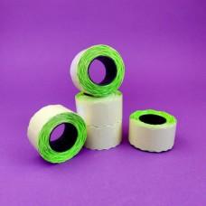 Ценник 26 х 16 зеленый 500 шт.