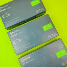 Перчатки нитриловые Nitrylex Basic S Синие (100 шт)