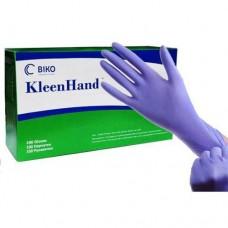 Перчатки нитриловые (L) KleenHand синие пл.3 (50 пар)