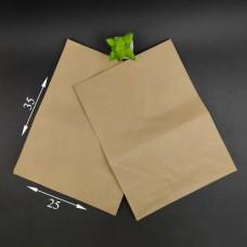 Пакет бумажный коричневый 350*250*140 мм