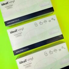Перчатки виниловые (М) НЕ ОПУДРЕННЫЕ IDEALL VINYL (50 пар)