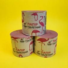 Туалетная бумага Фламинго (24 шт) РОЗОВАЯ