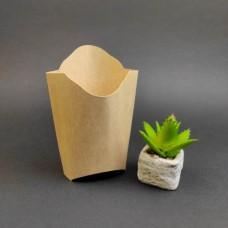 Упаковка для картошки фри Крафт (50  шт)