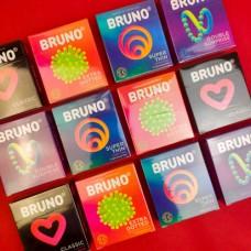 """Презервативы """"Bruno"""" в ассортименте"""
