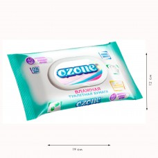 Влажная туалетная бумага Ozone УНИВЕРСАЛЬНАЯ (48 шт.) с клапаном