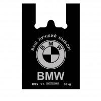 Майка пакет БМВ 40*60 черный OS