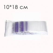 Пакет струна с замком zip lock 10*18 (100 шт) зип. пакет