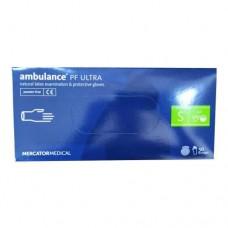 Перчатки латексные (S) Ambulancе Ultra (25 пар)