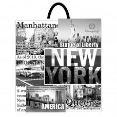 Пакет с петлевой ручкой 40*42 НЬЮ - ЙОРК ВТ (25 шт)