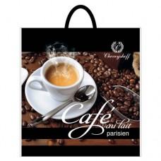 Пакет с петлевой ручкой 40*42 Кофе (25 шт)