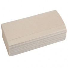 Бумажное полотенце V сложения 160 л. СЕРОЕ