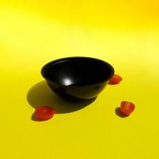 0600Д Контейнер для салата 0,6 мл. черный