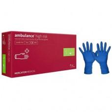 Перчатки латексные (S) Ambulancе (25 пар)